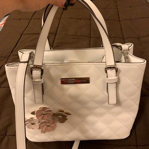 New Liz Claiborne White Handbag